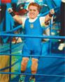 УКРАИНСКАЯ СПОРТСМЕНКА ЛИДИЯ СОЛОВЬЕВА,  рост которой всего 128 сантиметров, а вес — менее 40 килограммов, установила мировой  рекорд... подняв штангу  весом 105,5 килограмма!